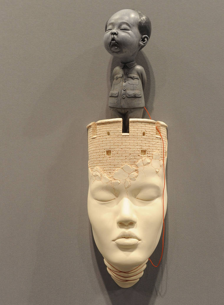 Les sculptures de fou de Johnson Tsang