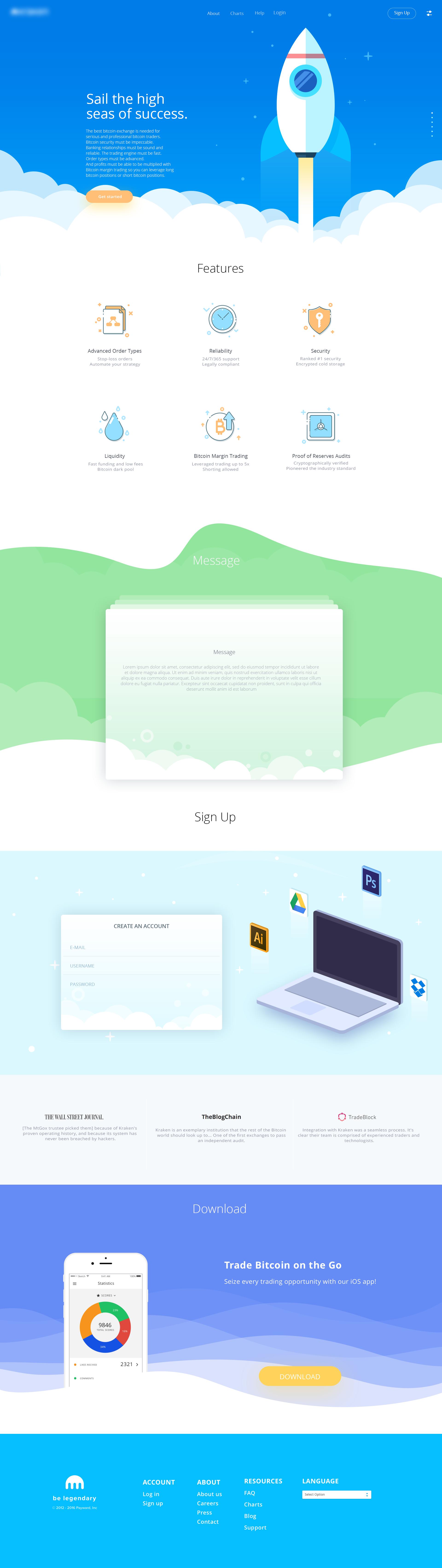 Zaib Ali, talentueux Webdesigner et Designer d'interface #30