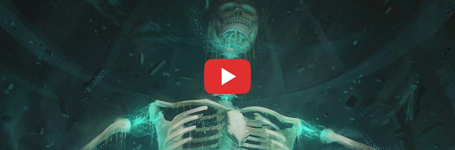 Vidéo : Digital Painting d'une invocation de squelette par Spartan