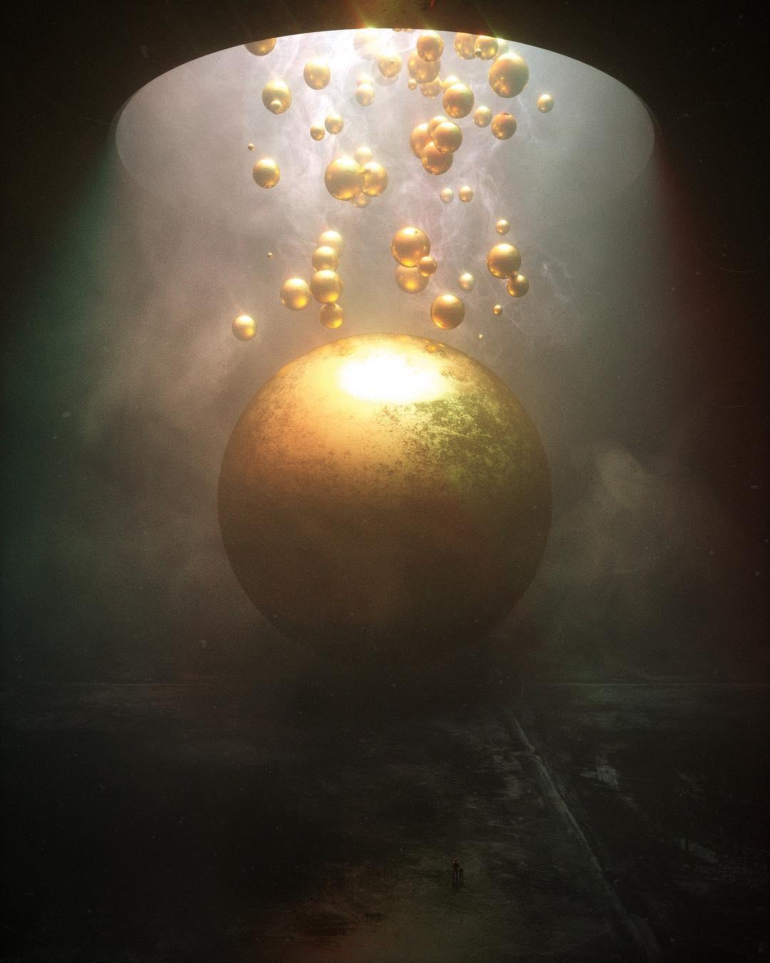 Une création d'art digital par jour par Stuart Lippincott