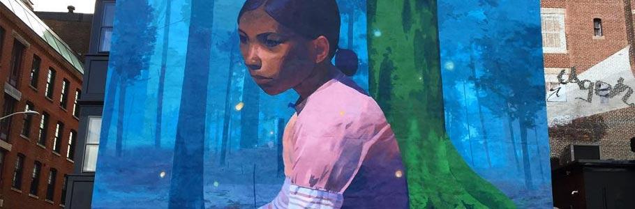 Les Street arts et peintures magnifiques d'Andrew Hem