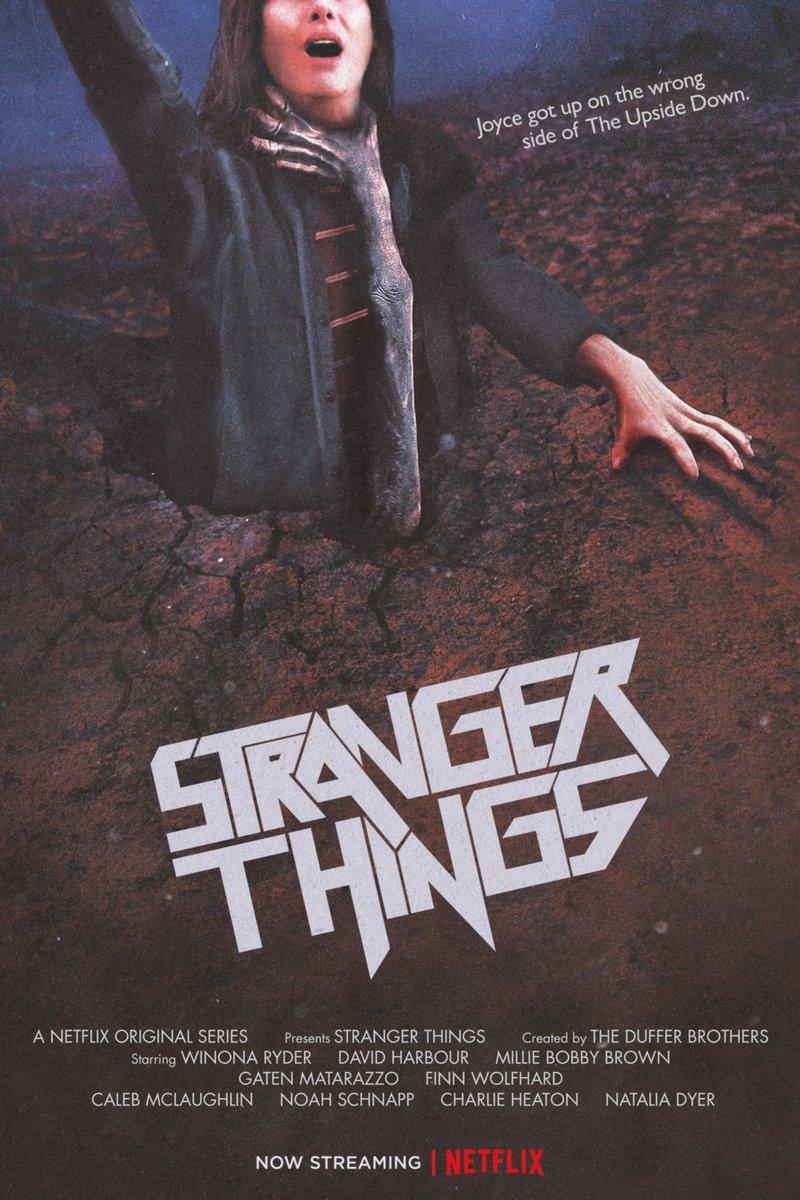 Les posters hommages aux 80's de Stranger Things Saison 2