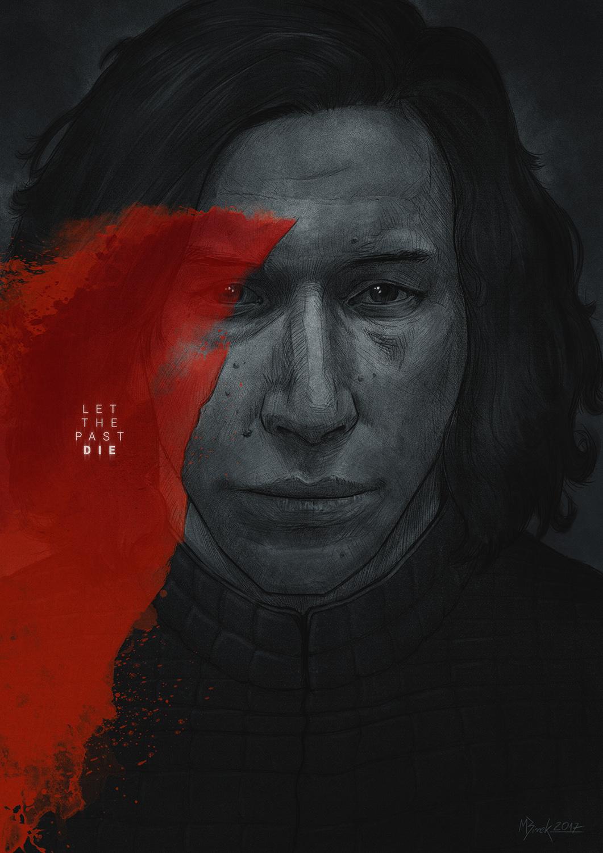 Les illustrations en hommage à Star Wars Les Derniers Jedi