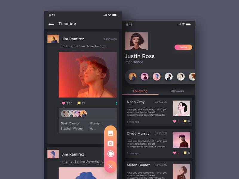 Inspiration UI/UX pour vos designs web et mobiles #2