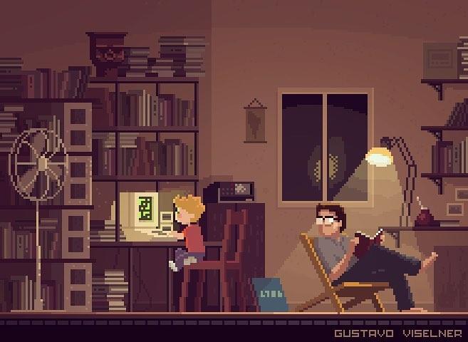 Nos séries et films préférés en pixel art