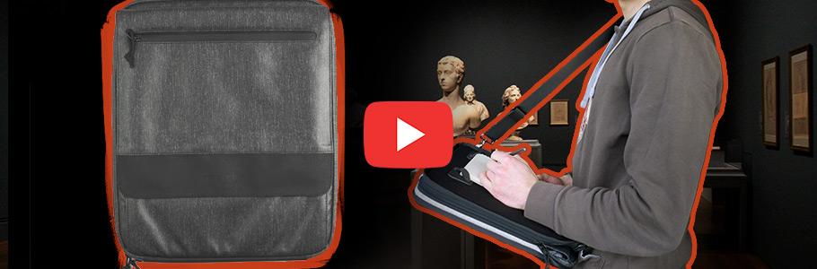 Vidéo : Test du sac haut de gamme pour artiste : l'Etchr Slate