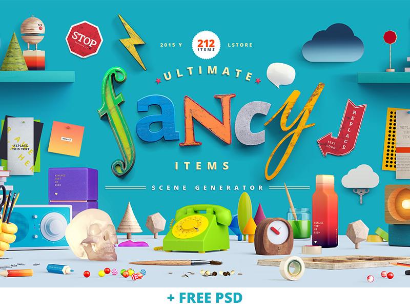 20 mockups en PSD pour vos créations et designs