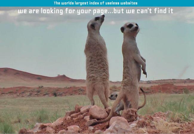 30 pages d'erreur 404 brillantes !