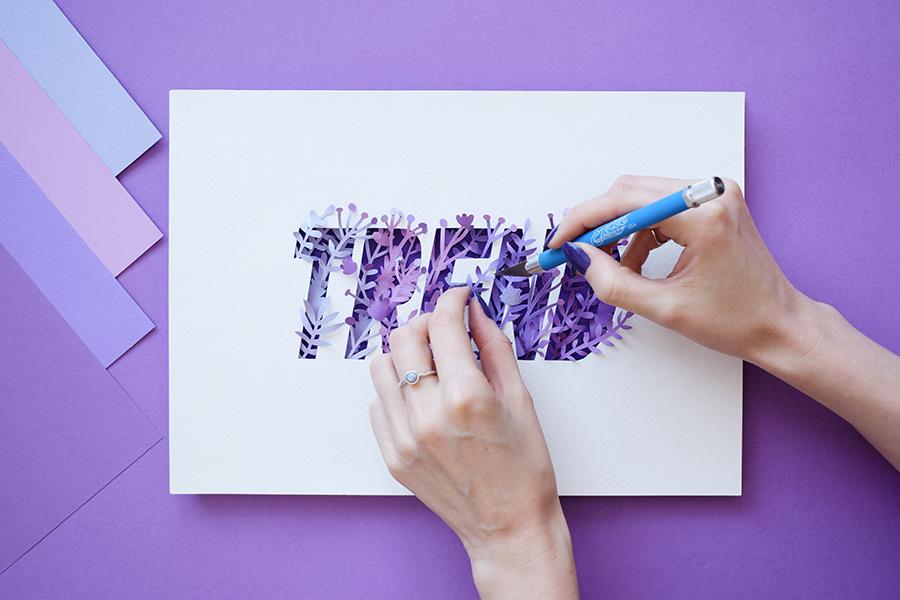 Quand le papier remplace le pinceau : Le