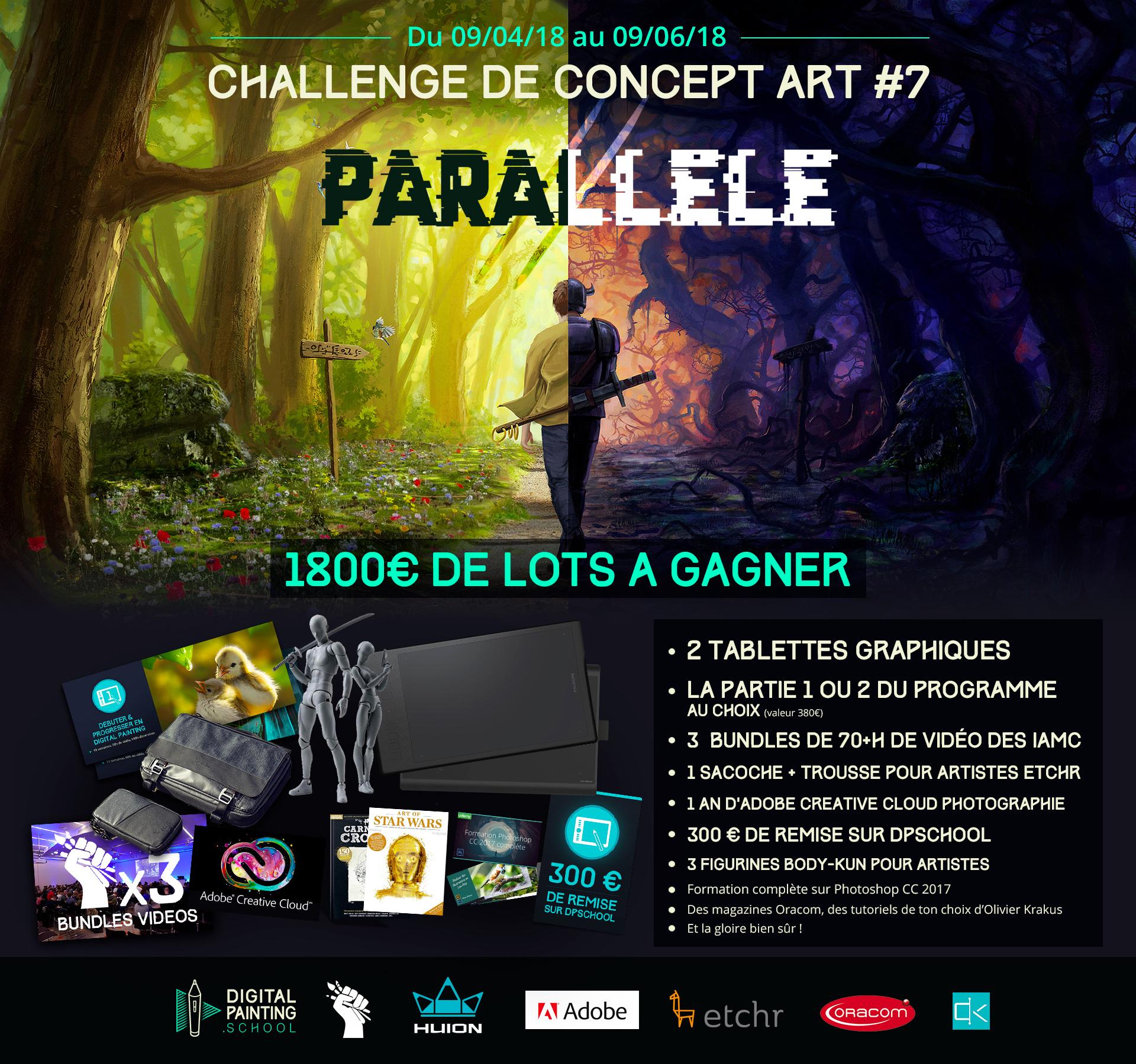 Challenge digital painting