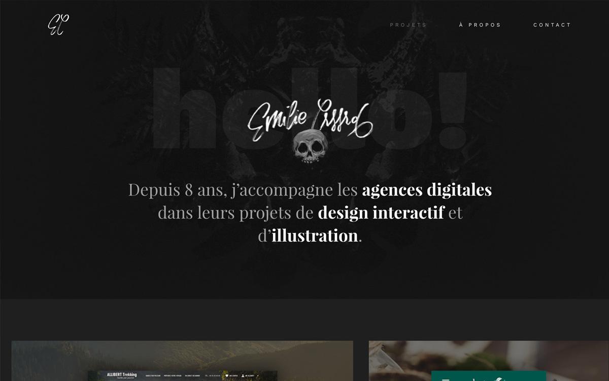 Sélection de 25 portfolios en ligne originaux et créatifs