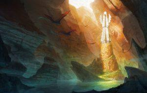 Fantasy landscape : The forgot temple