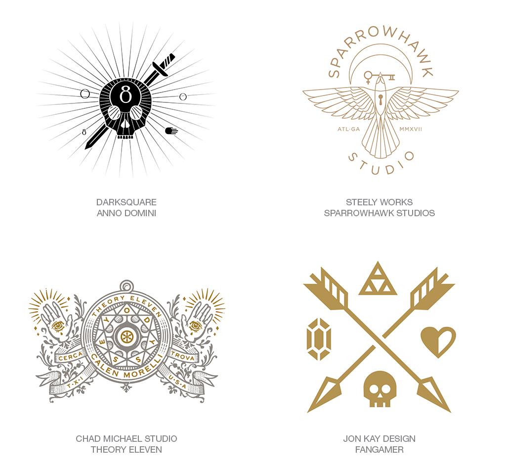 Les Tendances de logo de cette première moitié 2018