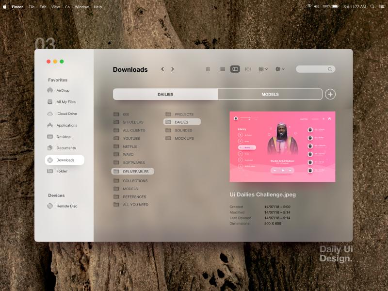 Inspiration UI/UX pour vos designs web et mobiles 7