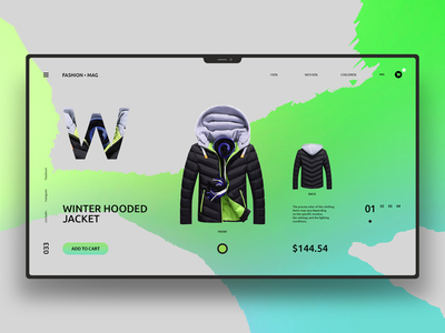 Maxim Nilov, talentueux Webdesigner et Designer d'interface #33