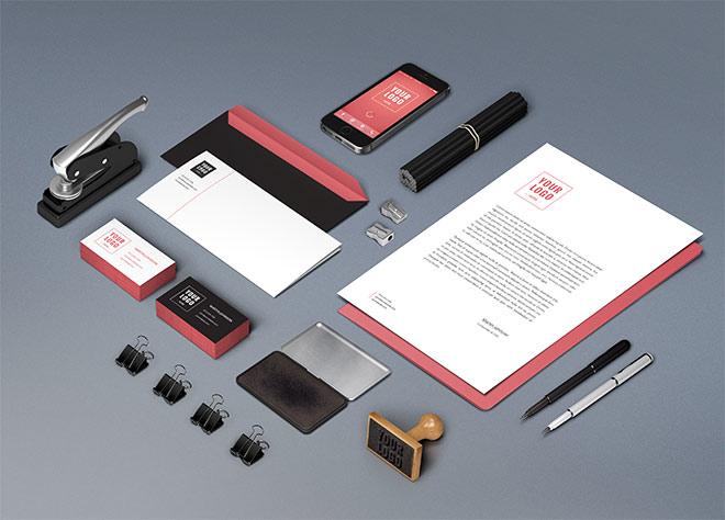 Les 25 meilleurs mockups d'éléments prints pour présenter vos projets