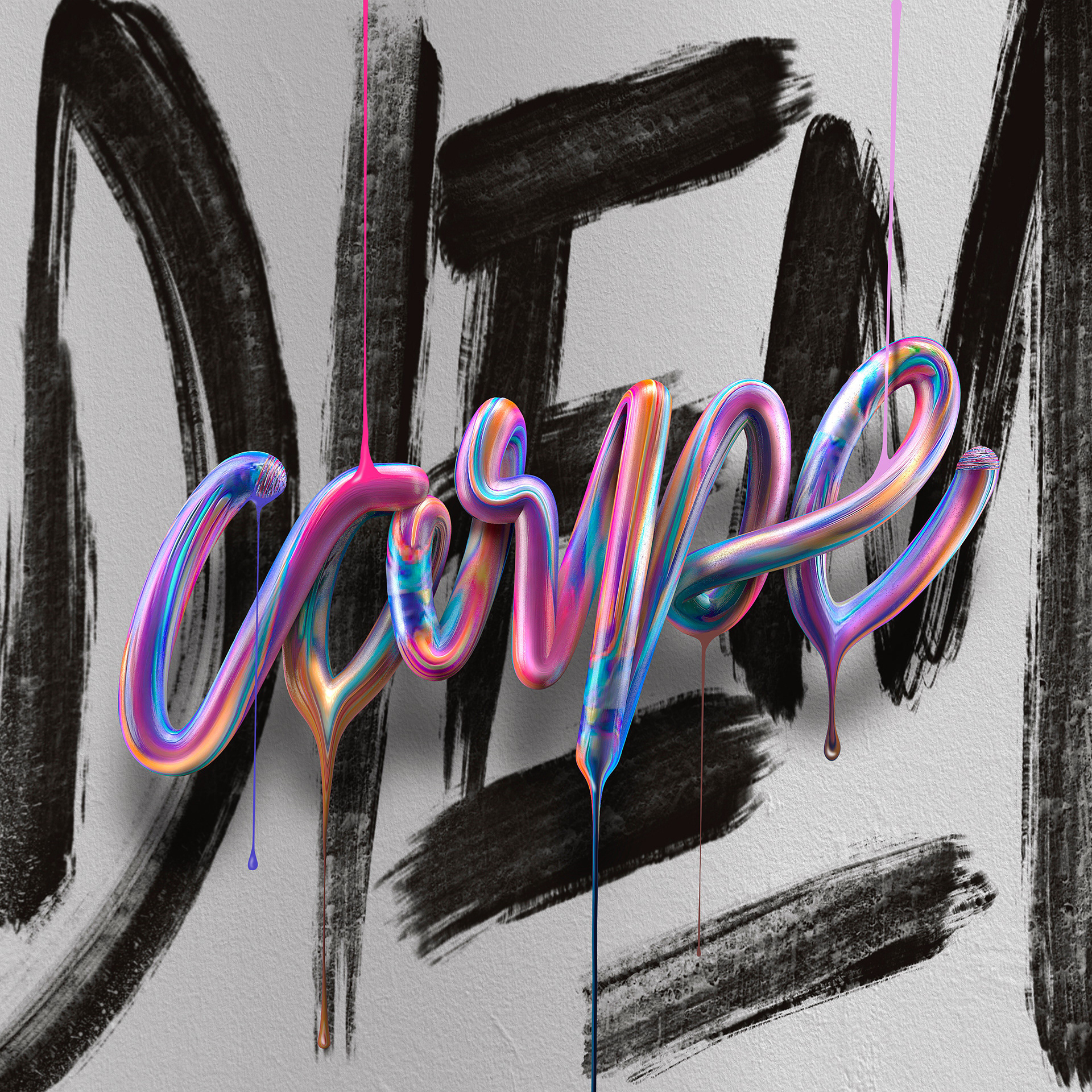 Illustrations typographiques de David Milan