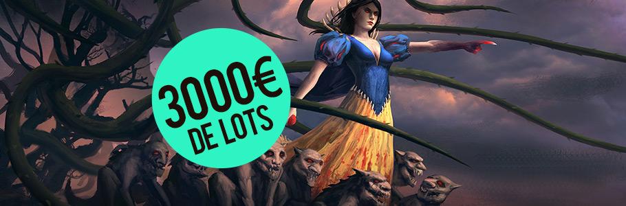 Lancement d'un Challenge d'illustration avec 3000€ de lots à gagner