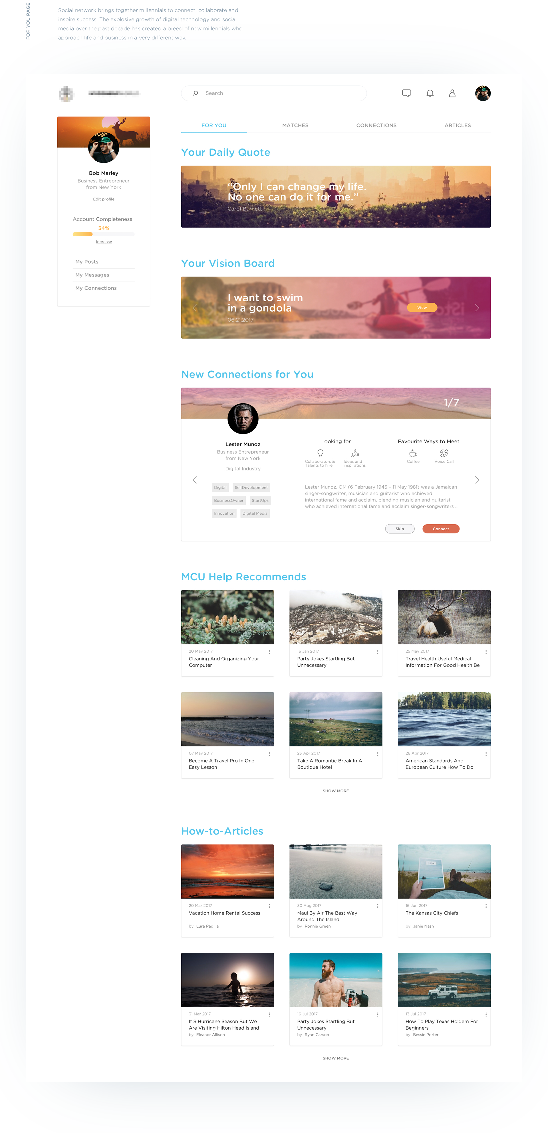 Inspiration UI/UX pour vos designs web et mobiles #8