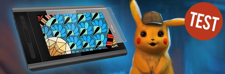 Vidéos : Test des tablettes graphiques à écran petit format XP-Pen Artist 12 et Huion Kamvas Pro 13