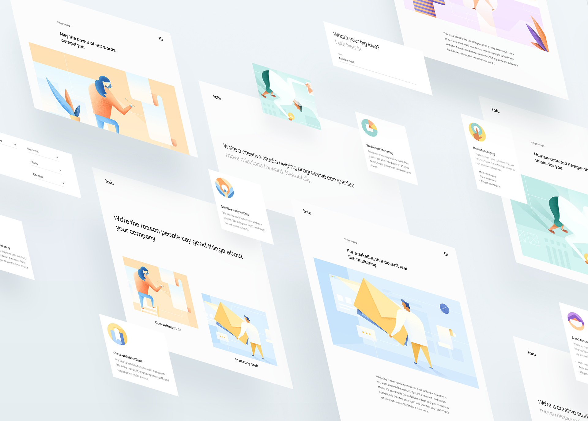 Daphnie Loong, talentueuse Webdesigner et Designer d'interface #36