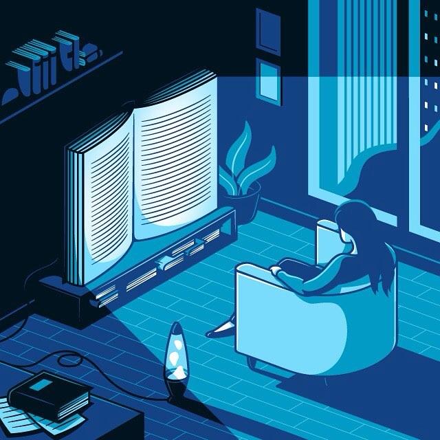 Les illustrations sur notre dépendance aux réseaux sociaux d'Elia Colombo