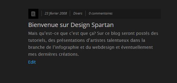Le blog Design Spartan fête ses 11 ans !
