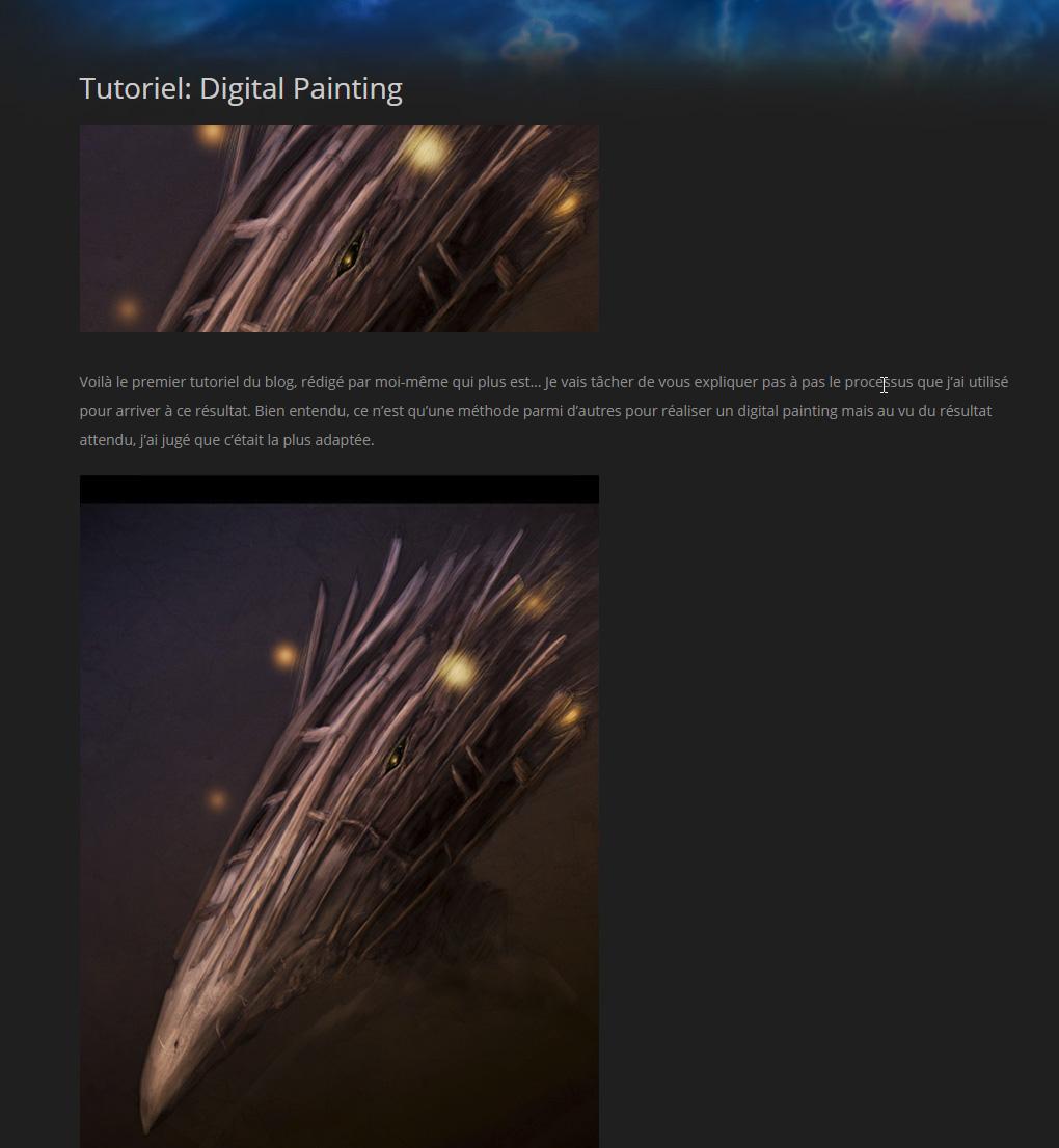 tuto de digital painting