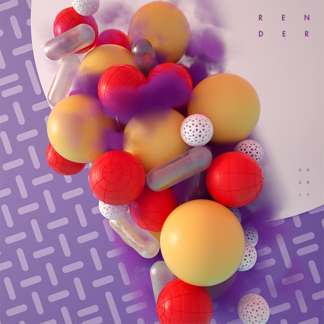 Les créations d'art digital abstraites de Martin Cusano