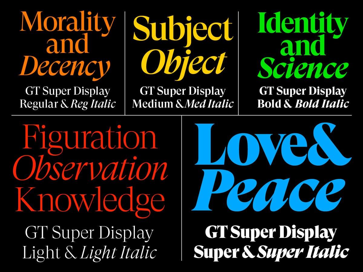 30 nouvelles Typographies de qualité gratuites à télécharger