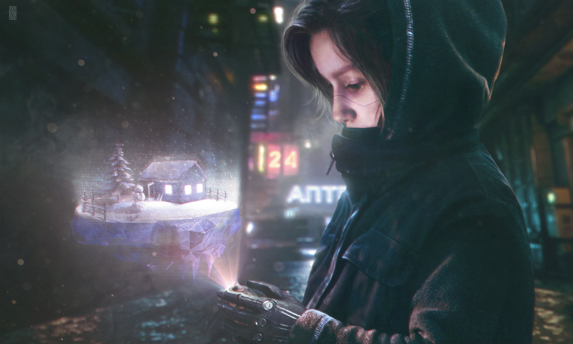 Les créations Cyberpunk d'Evgeny Zubkov