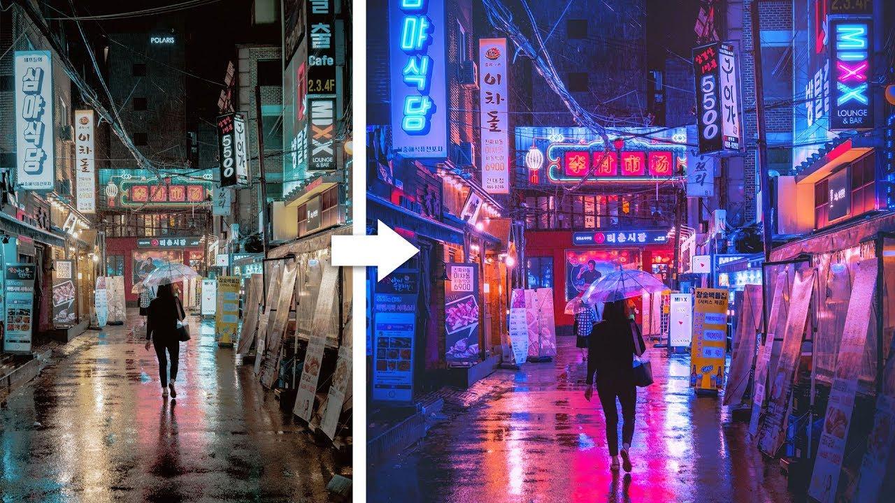 Vidéo : Tutoriel Photoshop - Comment donner un look cyberpunk à vos photos -