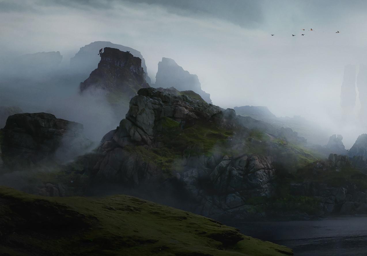 Les Matte paintings éblouissants de réalisme de Dmitry Zaviyalov