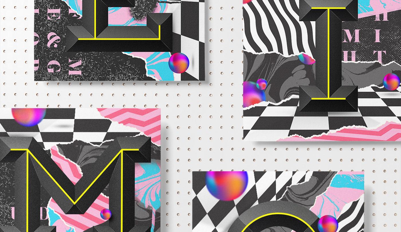 Les posters et designs typographies de Davide Baratta