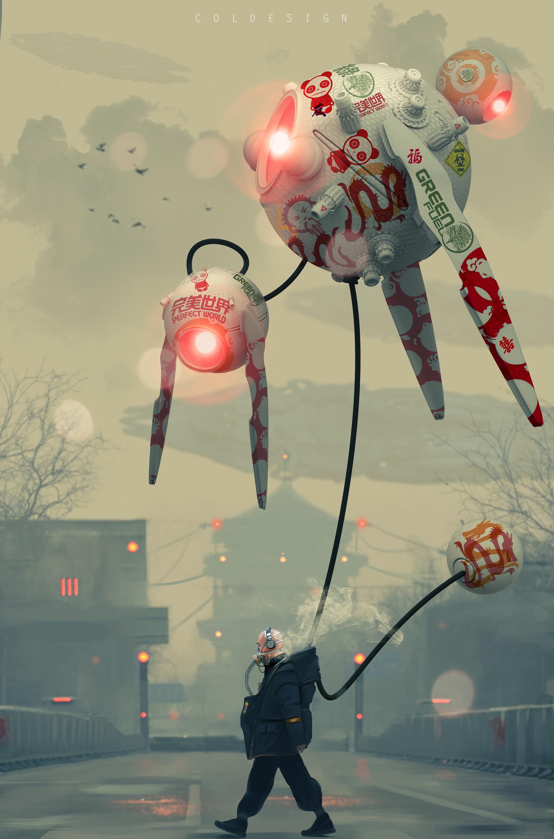 Les digital paintings de SF de Col Price
