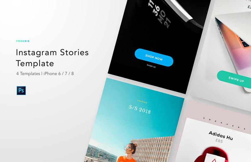 10 Templates pour faire vos Storys Instagram plus vite
