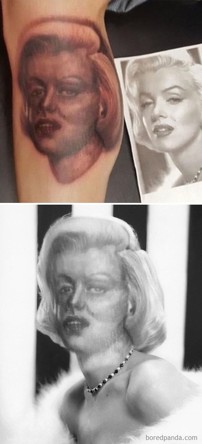 Du FaceSwap sur des tatouages ratés Partie 1 !