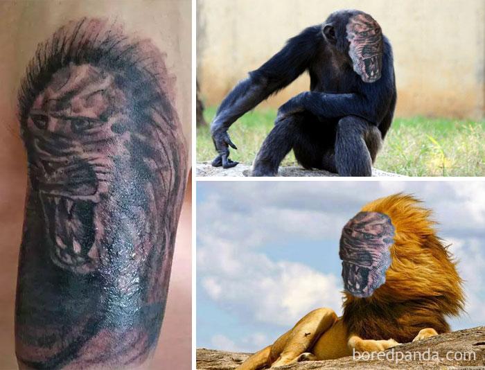 Du FaceSwap sur des tatouages ratés Partie 3 !