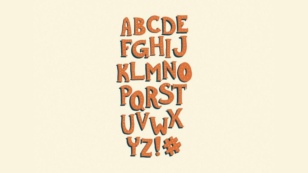 Les 25 meilleurs Typographies rétros