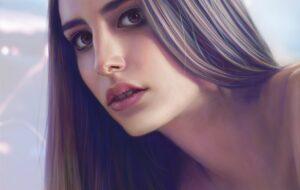 study-portrait-Woman portrait
