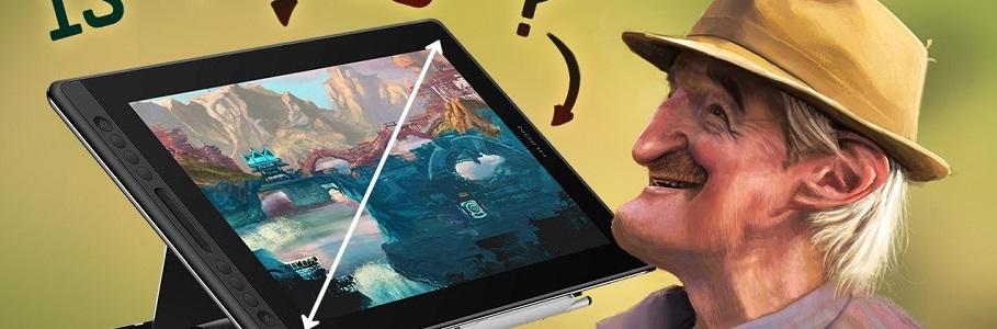 16 POUCES : La MEILLEURE TAILLE de tablette graphique à ÉCRAN ? Test Huion Kamvas Pro 16
