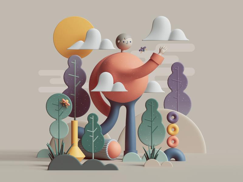 Les créations 3D de Peter Tarka