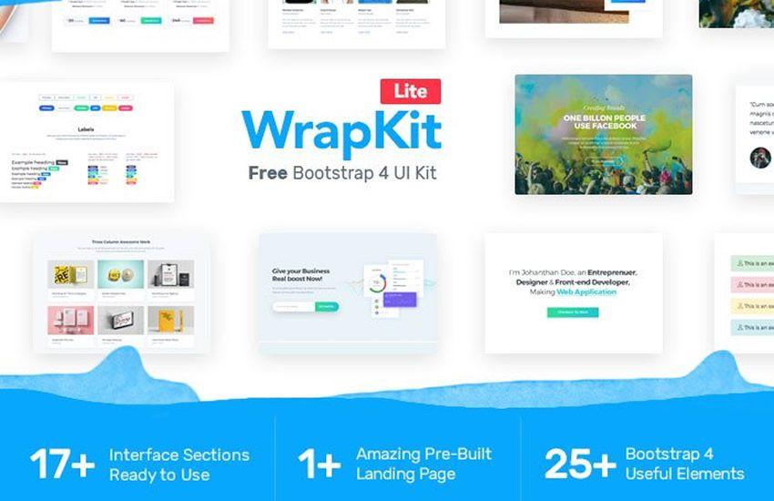 10 UI Kits Bootstrap 4 à télécharger gratuitement