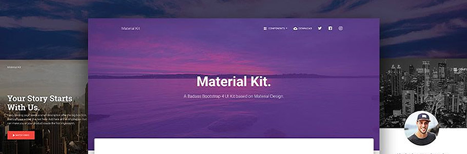 10 UI Kits Bootstrap 4 à télécharger gratuitement (HTML)