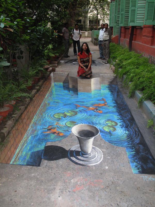 20 Street arts 3D qui piègeront vos sens