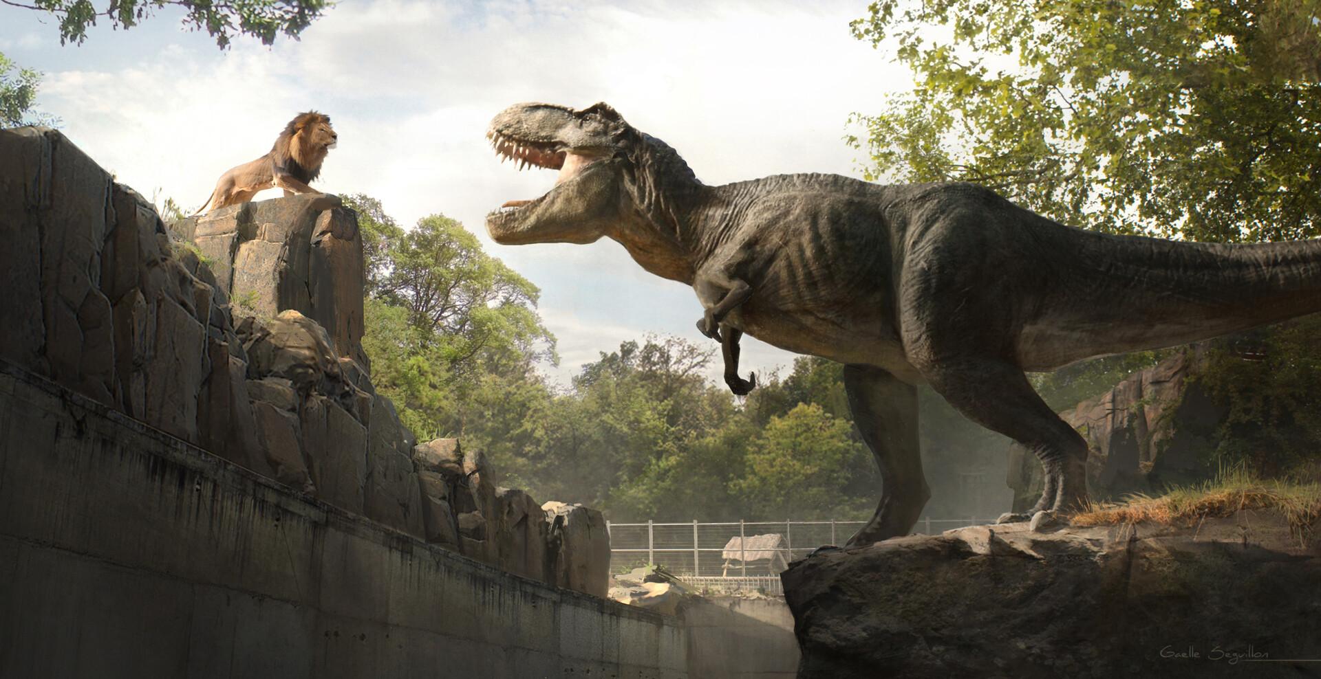 Vidéo : Interview de Gaëlle Seguillon, concept artist sur Jurassic World, Ready Player One...