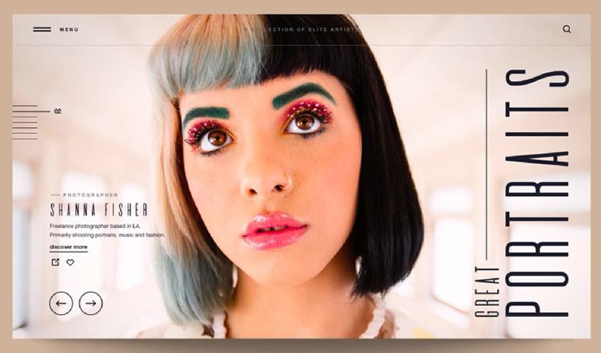 20 Portfolios de photographes pour votre inspiration UI/UX design