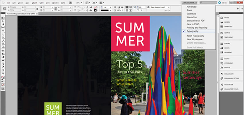 25 Tutoriels gratuits pour maîtriser Adobe Indesign