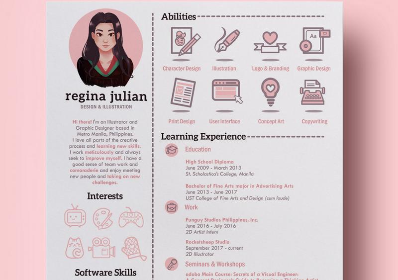 Quelques CV créatifs pour votre inspiration