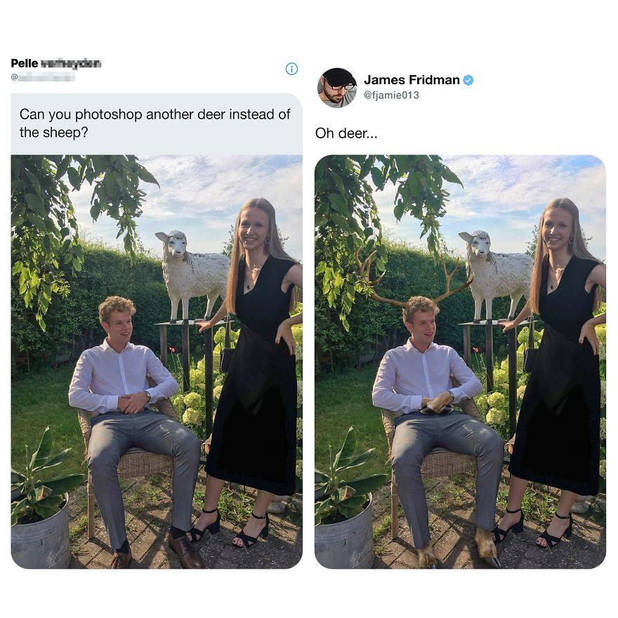 Le trolleur Photoshoppeur est de retour !